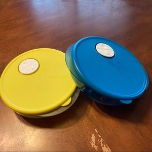 Tupperware Round Microwaveable Containers